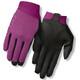 Giro Riv'ette Naiset Pyöräilyhanskat , violetti/musta
